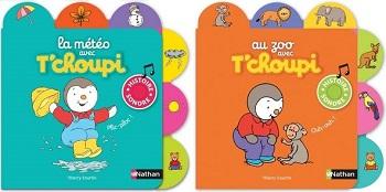 Les Livres Sonores T Choupi La Meteo Et Au Zoo Un Article