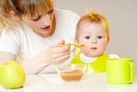 photo comment commencer la diversification de bebe