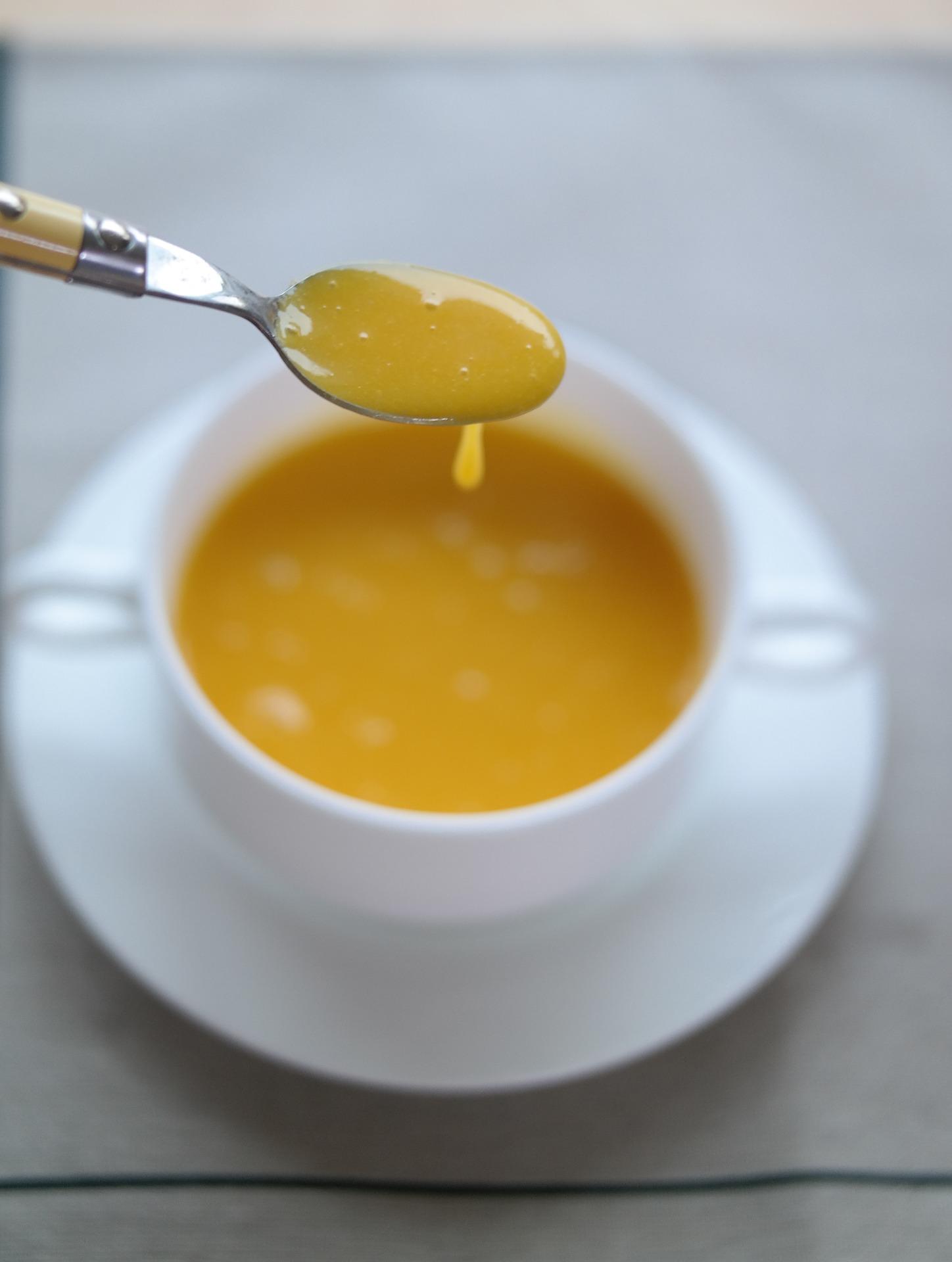 Soupe de potimarron courgettes et carottes une recette de r galez b b - Soupe potiron cocotte minute ...